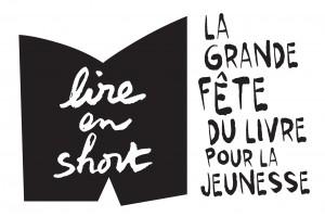 Logo Lire en short noir